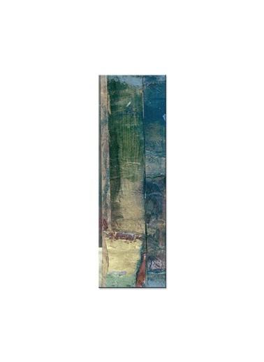 Arte Casero Soyut Kanvas Tablo 40x100 cm Renkli